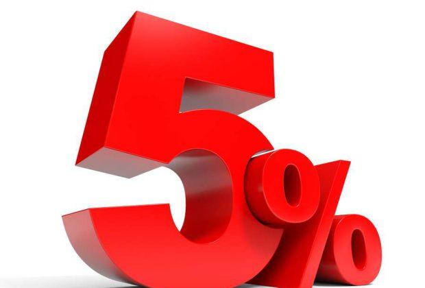 СКИДКА 5% с 9:00 до 13:00